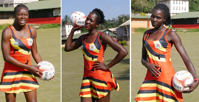 Betty Kizza, Muhaimuna Namuwaya and Joan Nampungu