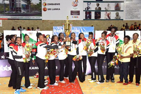 Uganda beat South Africa to win WUNC 2018