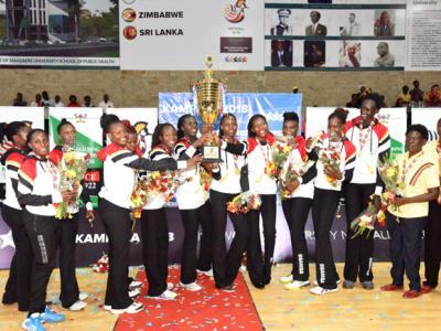 Team Uganda celebrates